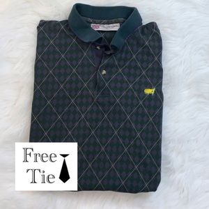 The Masters Polo by SLAZENGER men's golf shirt